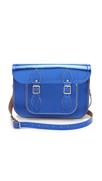 "Cambridge Satchel Metallic 11"" Satchel"