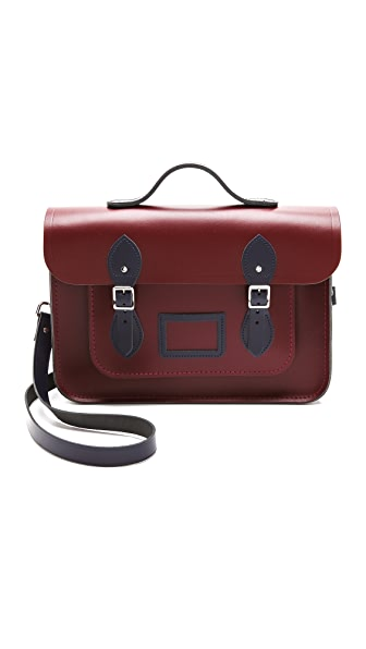 "Cambridge Satchel 14"" Designer Satchel"