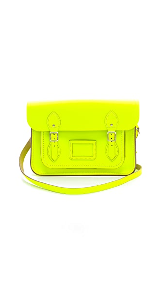 "Cambridge Satchel 13"" Fluoro Satchel"