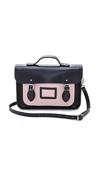 "Cambridge Satchel 13"" Satchel with Magnetic Closure"