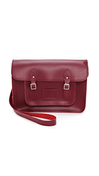 "Cambridge Satchel 15"" Seasonal Brogued Satchel"