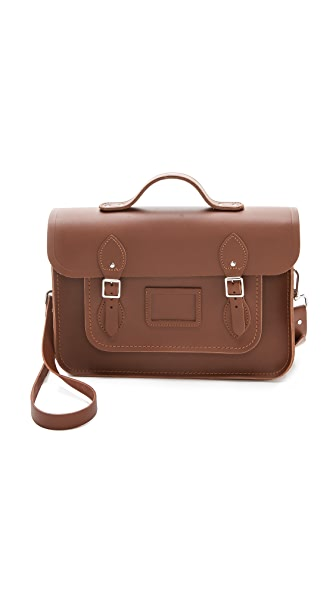 "Cambridge Satchel 14"" Satchel with Top Handle"