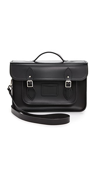 "Cambridge Satchel 14"" Satchel with Magnetic Closures"