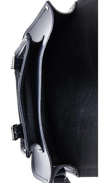 Cambridge Satchel 11'' Satchel With Haircalf Pocket