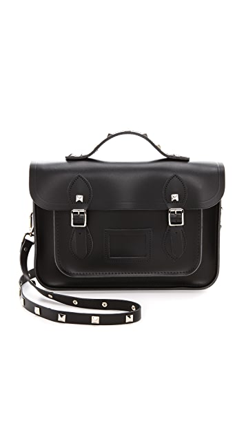 Cambridge Satchel 13'' Satchel with Studs