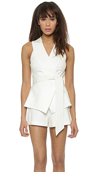 C/Meo Collective Wrap It Up Playsuit