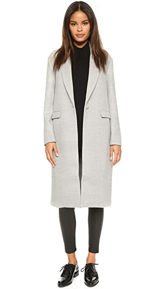 C/Meo Collective Late Nights Coat - Grey Marle