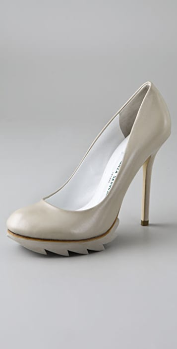 Camilla Skovgaard Saw Pumps