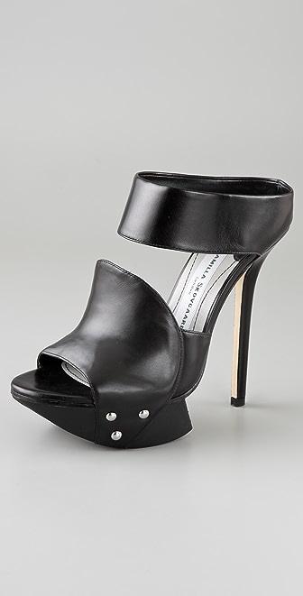 Camilla Skovgaard 2 Band Platform Sandals