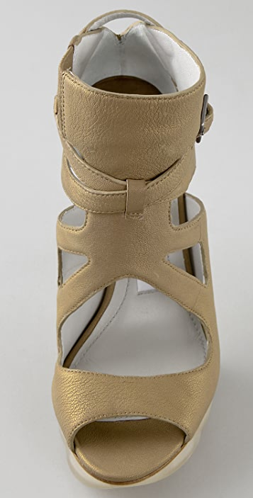 Camilla Skovgaard Cutout Saw Tooth Sandals
