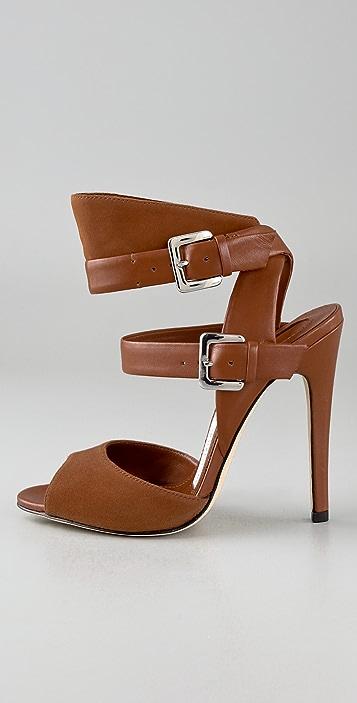 Camilla Skovgaard Buckle Strap High Heel Sandals