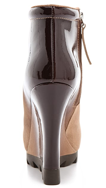 Camilla Skovgaard Ankle Wedge Boots with Saw Sole