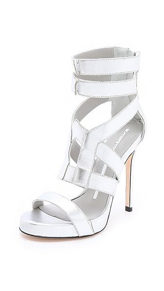 Camilla Skovgaard Platform Metallic Sandals