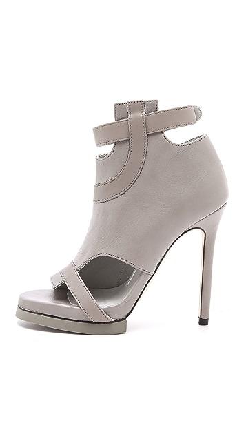 Camilla Skovgaard Road Line Stiletto Booties