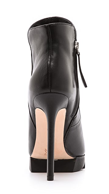 Camilla Skovgaard Flame Ankle Booties with Saw Sole