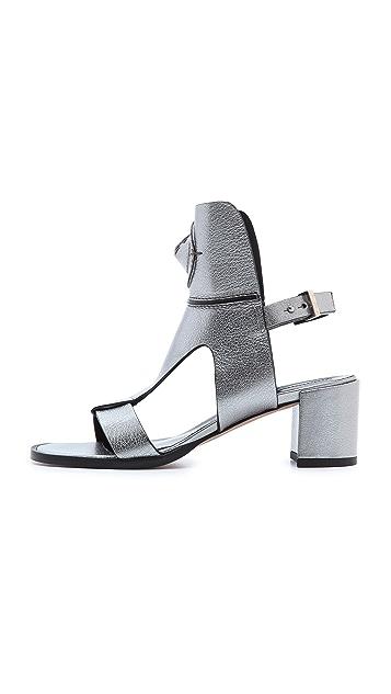 Camilla Skovgaard Cone T Bar City Sandals