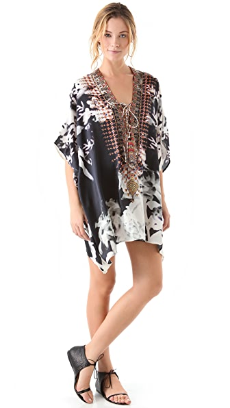 Camilla Short Lace Up Cover Up