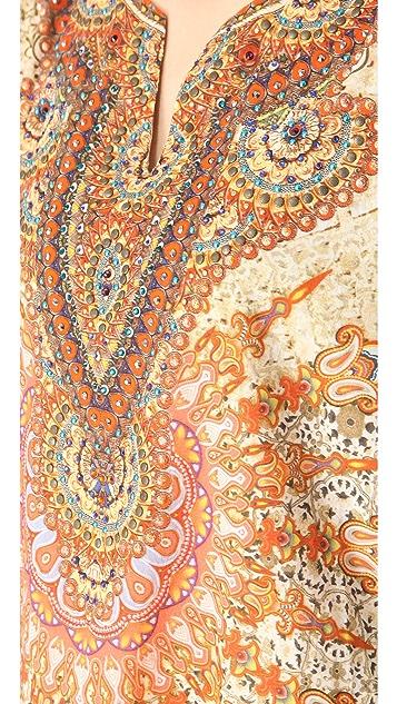 Camilla Handkerchief Hem Caftan
