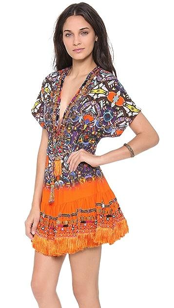 Camilla African Queen Short Cover Up Dress