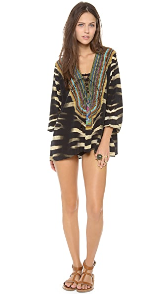 Camilla Animism Cover Up Top
