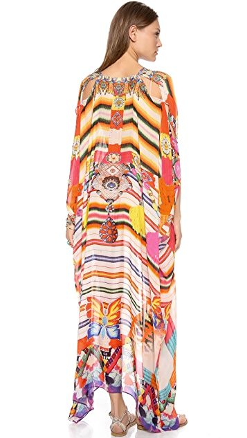 Camilla The Lares Trail Belted Caftan