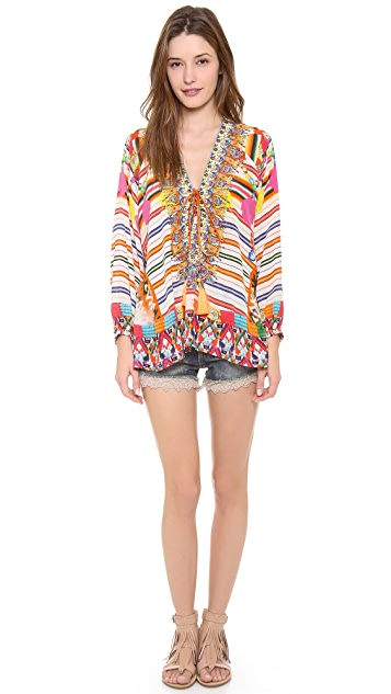 Camilla The Lares Trail Lace Up Shirt