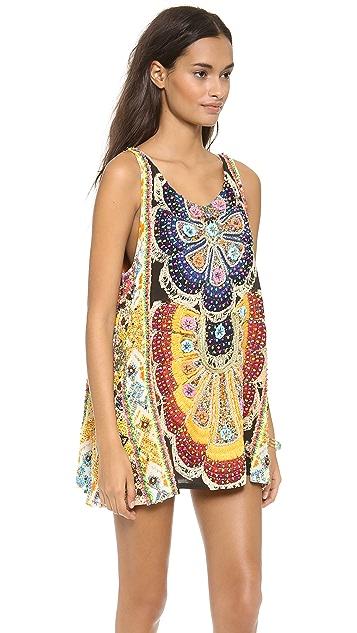 Camilla Round Neck Mini Dress