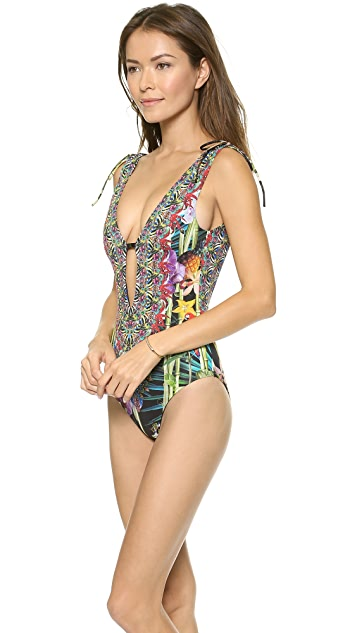 Camilla V Front One Piece Swimsuit