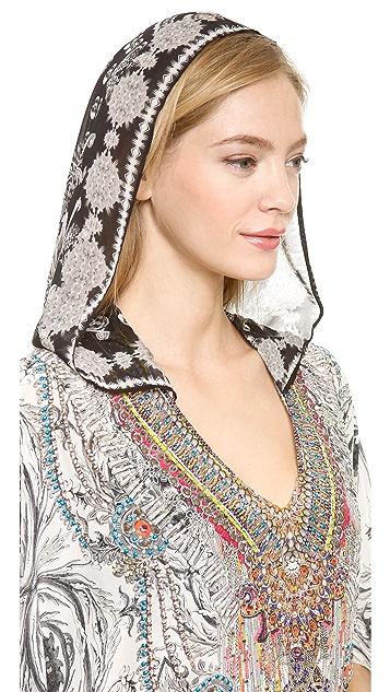 Camilla Short Hooded Caftan