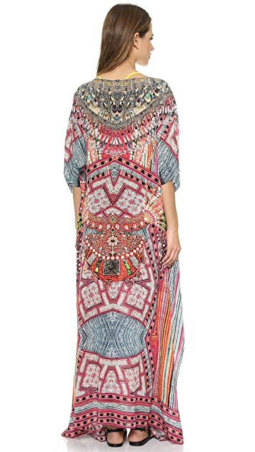 Camilla Round Neck Maxi Dress