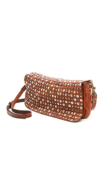 Campomaggi Washed Leather Cross Body Bag