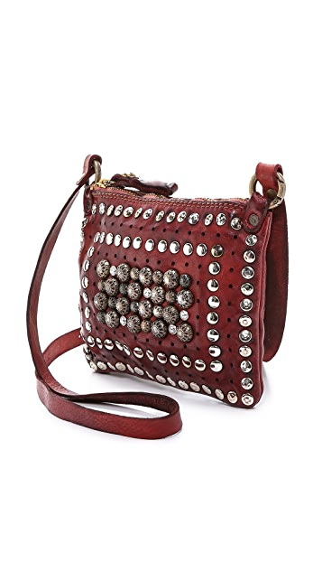 Campomaggi Studded Cross Body Pouch