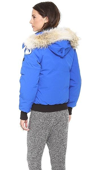 Canada Goose vest outlet price - Canada Goose Polar Bears Chilliwack Bomber Jacket   SHOPBOP