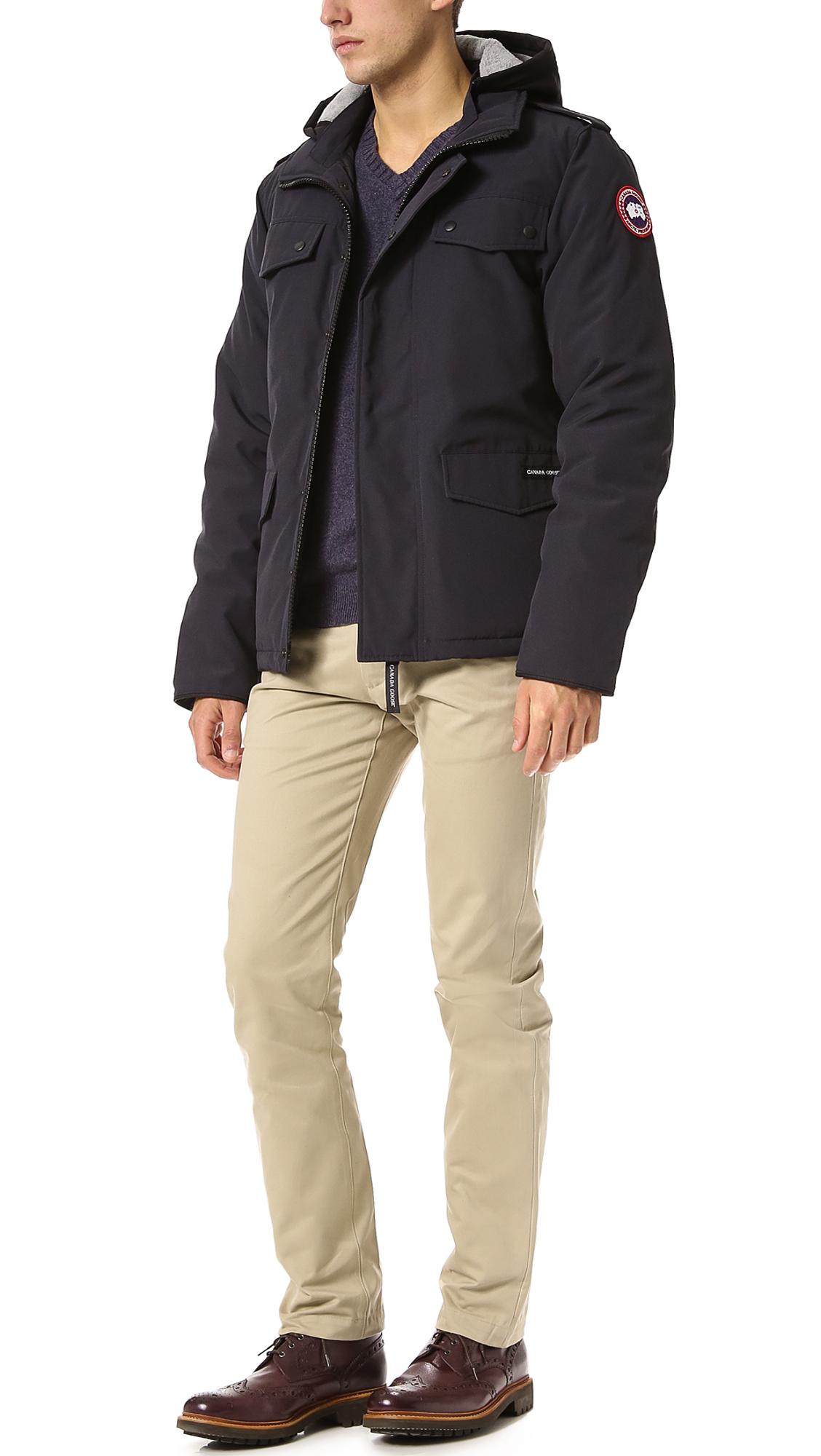 Canada Goose langford parka replica shop - Canada Goose Burnett Jacket | EAST DANE