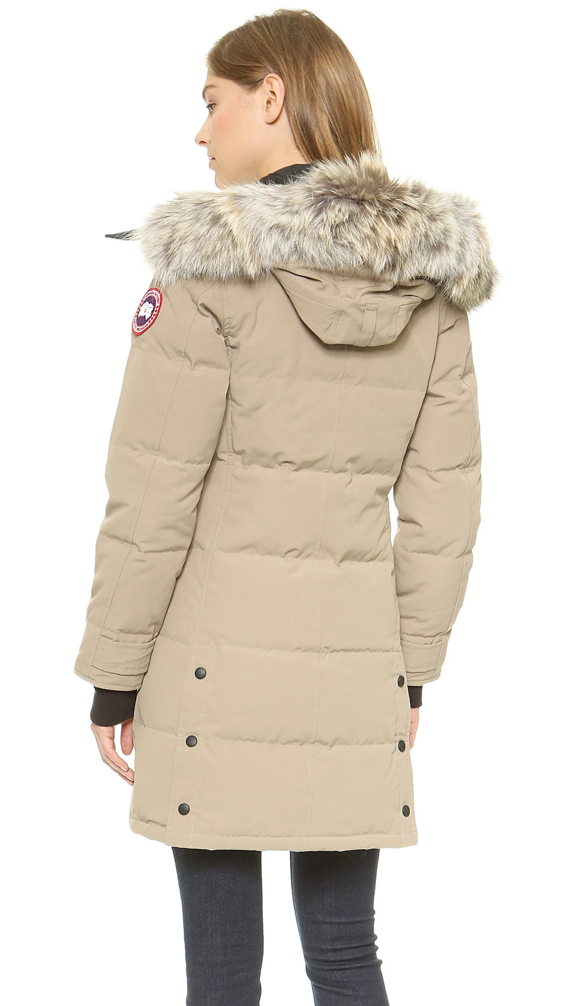 canada goose black label shelburne parka
