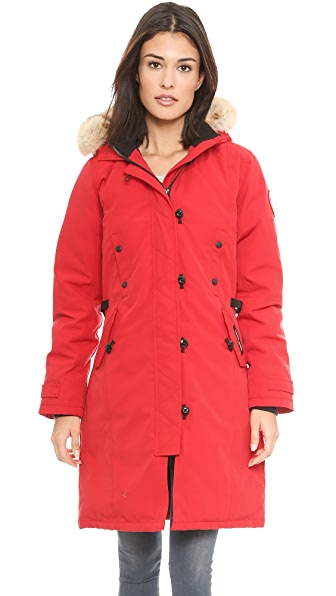 how long is canada goose kensington parka
