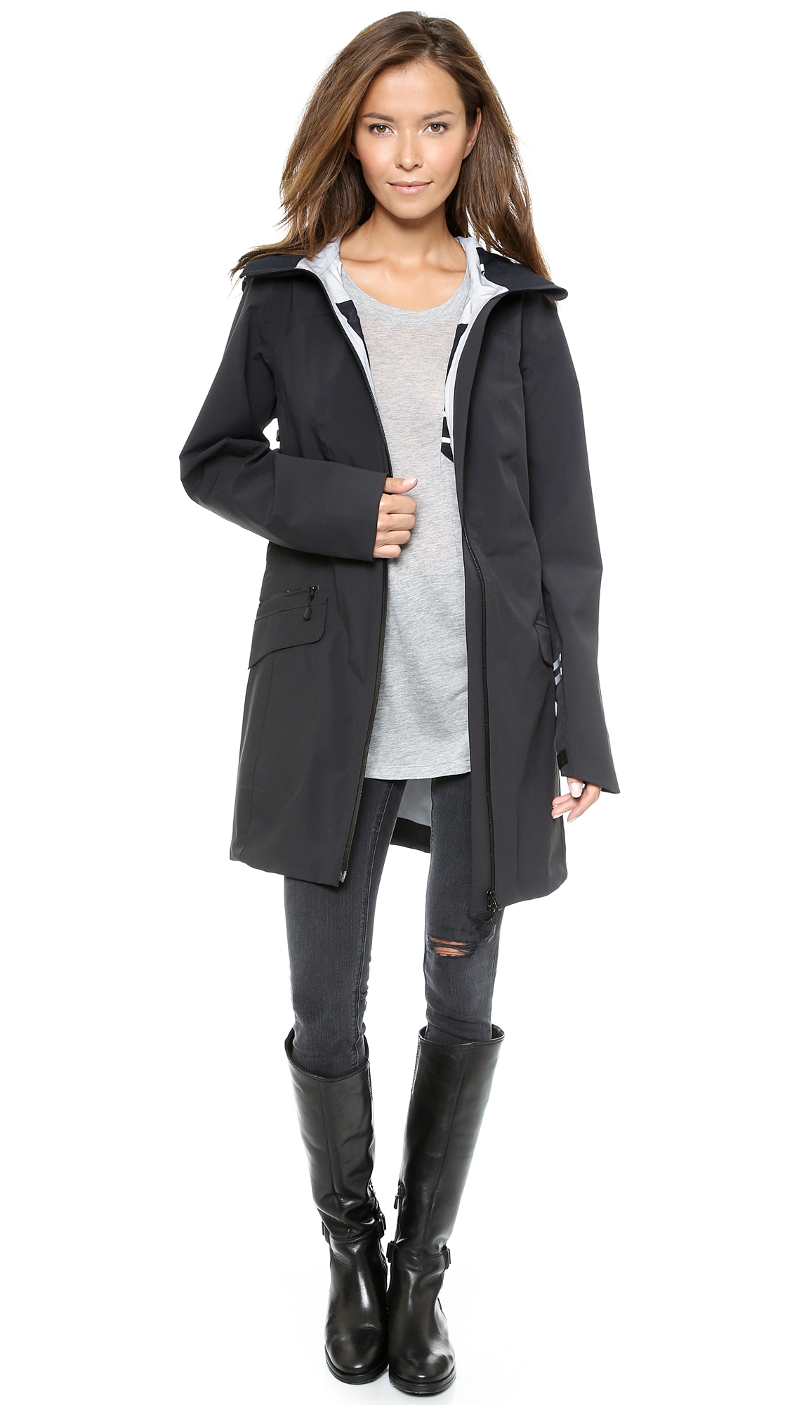 Canada Goose' Coastal Shell Jacket - Women's Medium - Black