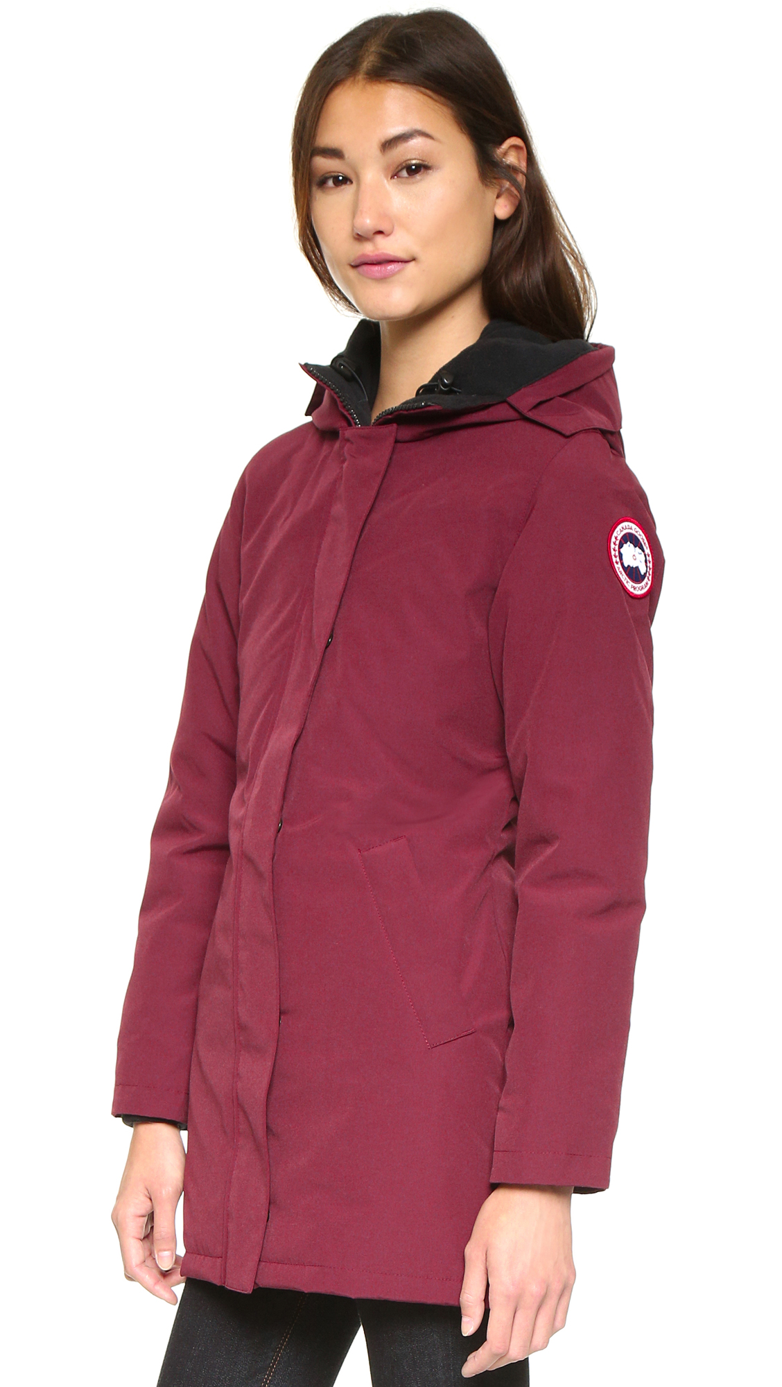 canada goose victoria parka niagara grape canada goose. Black Bedroom Furniture Sets. Home Design Ideas
