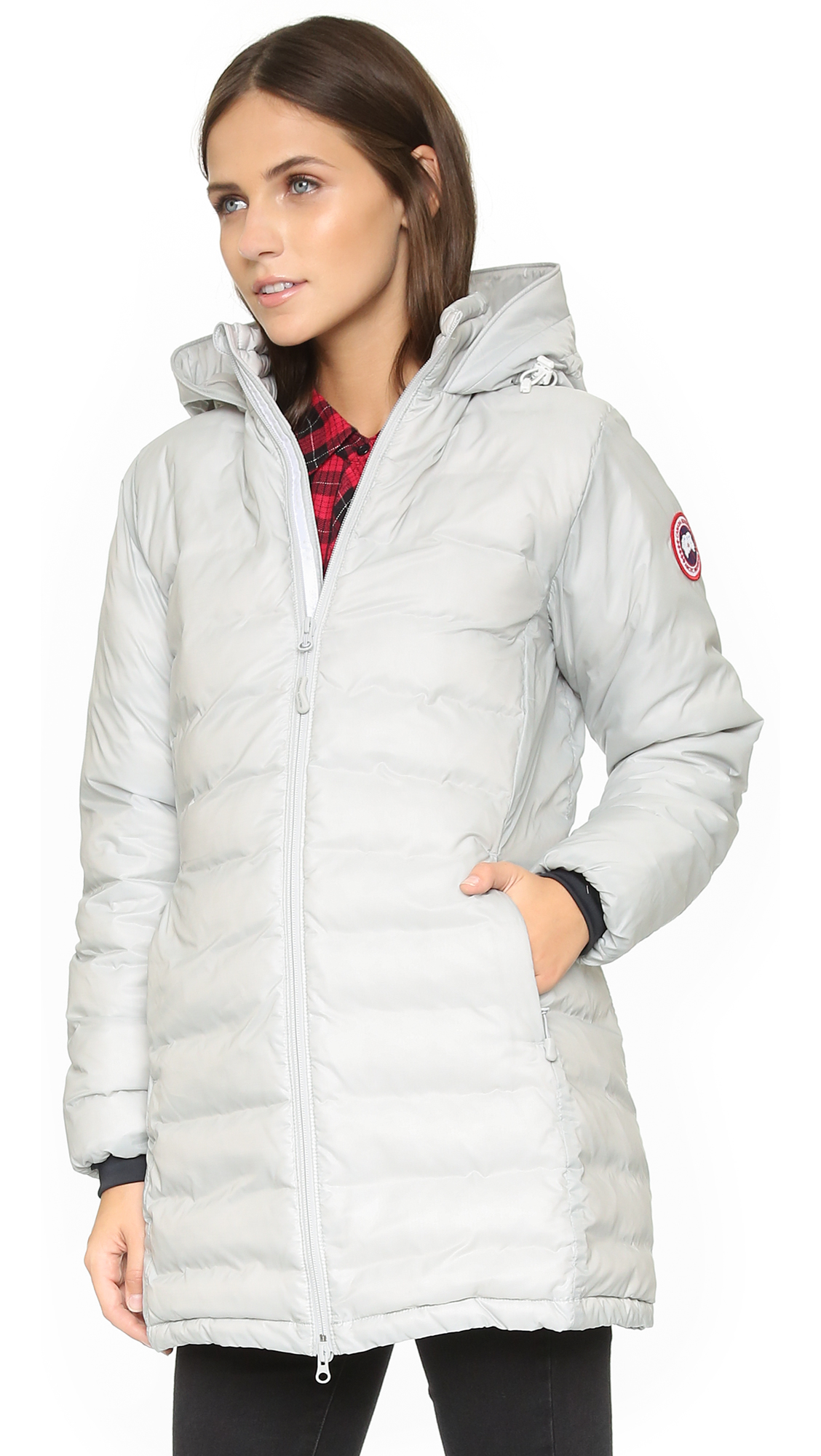 Canada Goose chateau parka sale store - Canada Goose Camp Hooded Jacket - Silverbirch - Designer Jacket ...