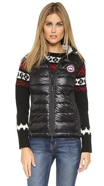 Canada Goose' women's hybridge lite vest