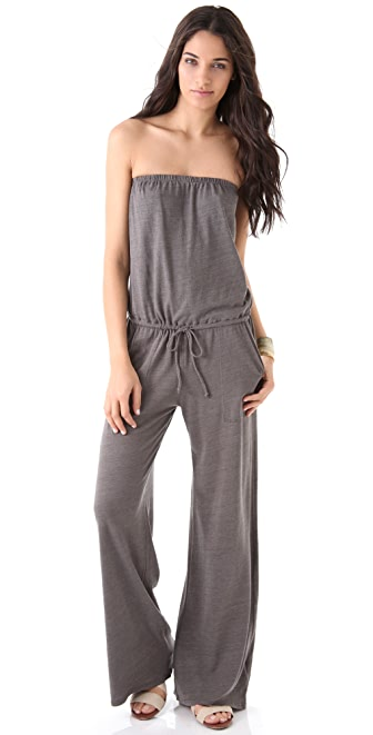 C&C California Strapless Jumpsuit