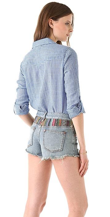 C&C California Roll Sleeve Pocket Shirt