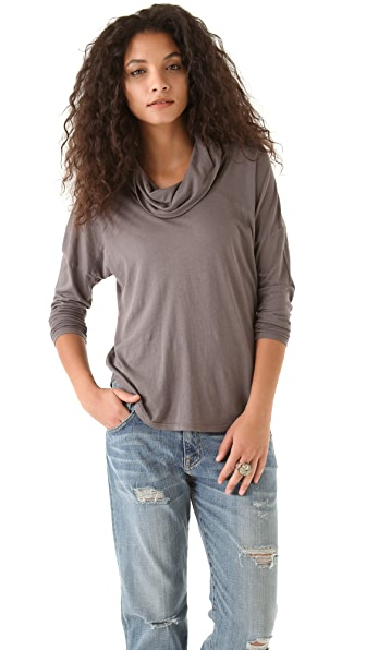 C&C California Cowl Neck Tee