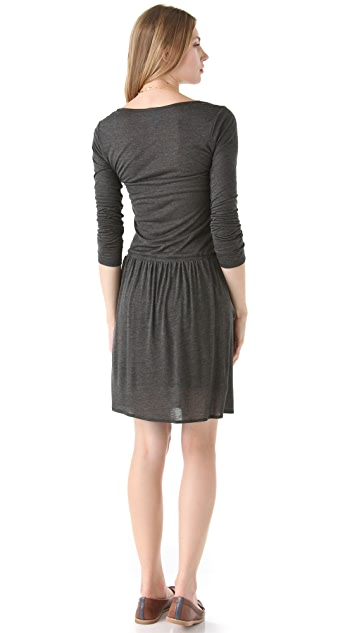 C&C California 3/4 Sleeve Ballet Dress