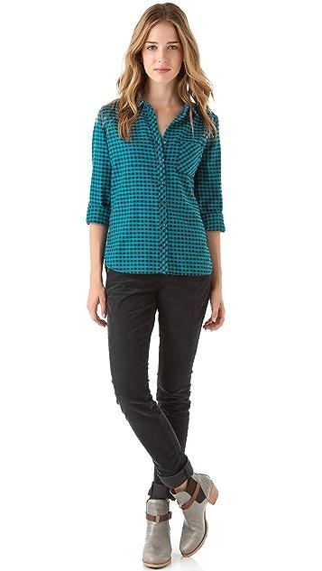 C&C California Rolled Sleeve Pocket Shirt