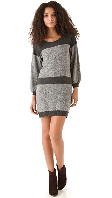 C&C California 3/4 Sleeve Sweater Dress