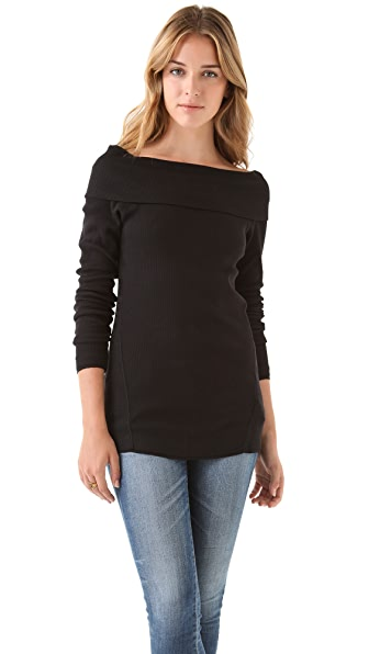 C&C California Off The Shoulder Tunic