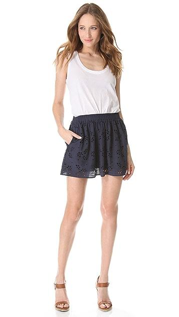 C&C California Eyelet Skirt
