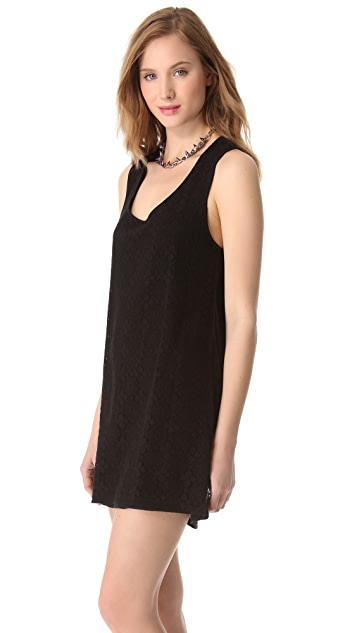 C&C California Tie Back Tank Dress