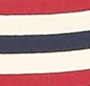 Red/Cream/Navy Stripe